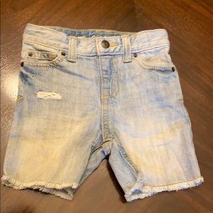 Cat & Jack light denim shorts